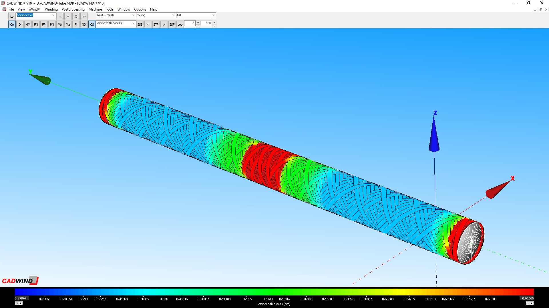 CADWIND friction modelling