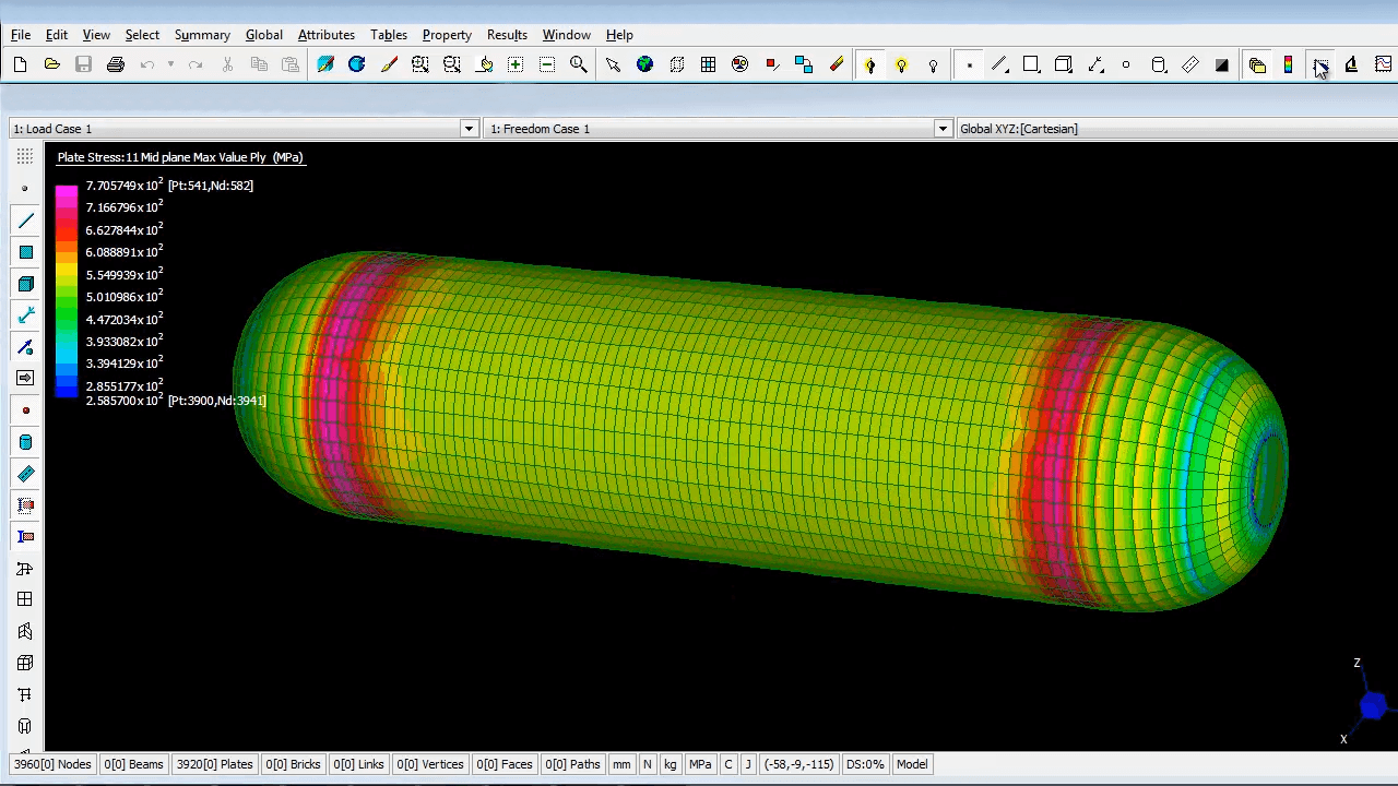 CADWIND finite element analysis (FEA)